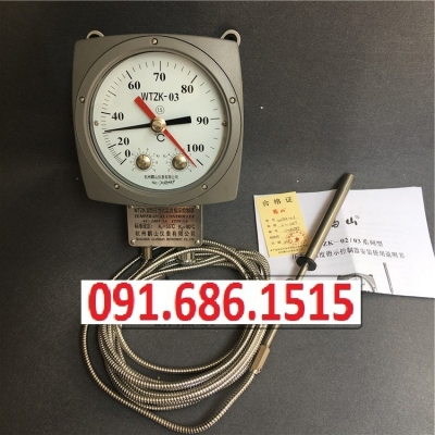 Hangzhou Lushan temperature controller WTZK-03 transformer pressure type temperature indicating controller