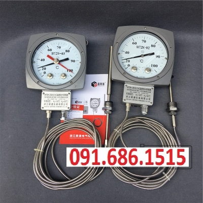 WTZK-02 transformer temperature controller pressure type temperature controller thermostat WTZK-03