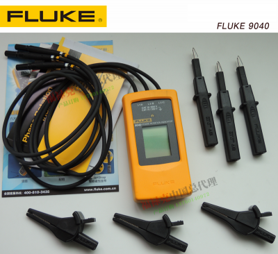 ĐỒNG HỒ ĐO ĐIỆN CHỈ THỊ PHA, Fluke F9040 phase sequence indicator ,F9062 motor phase sequence indicator FLUKE2042 cable tester
