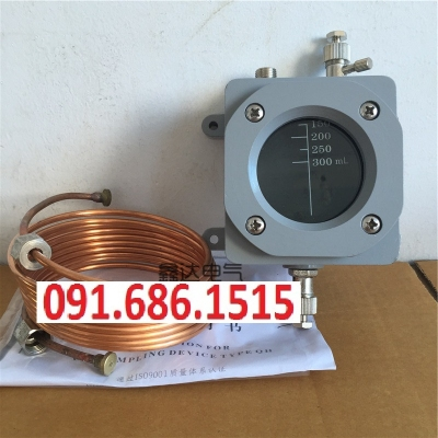 QH1-500 gas relay waterproof gas box 3.5 m copper plate copper tube QJ4 series gas relay