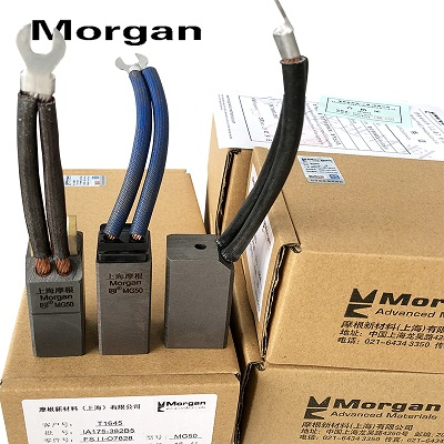Chổi than Shanghai Morgan carbon brush MG50 MG49 MG70  32 * 40 * 50 * 60