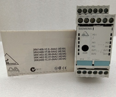 Modun AS-INTERFACE 3RX9 502 0BA00,3RK1402-0BE00-0AA2,3RK1402-3CE00-0AA2