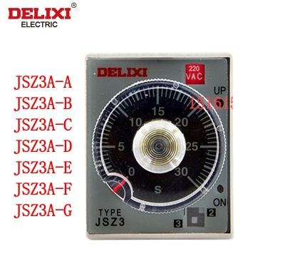 Rơ le thời gian, Delixi delay time relay JSZ3A-A AB AC AD AE AF