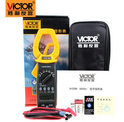 Đồng hồ kẹp dòng, VICTOR victory digital clamp meter multimeter  VC6052, VC6050 VC6056A+  AC and DC clamp meter