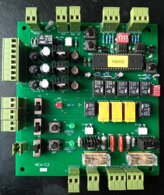 mạch điều khiển camera GS-QD-C2; YD03-2012, camera decoding control board NEW-C2